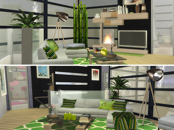 Sims 4 PENGUIN house by dasie2 at TSR