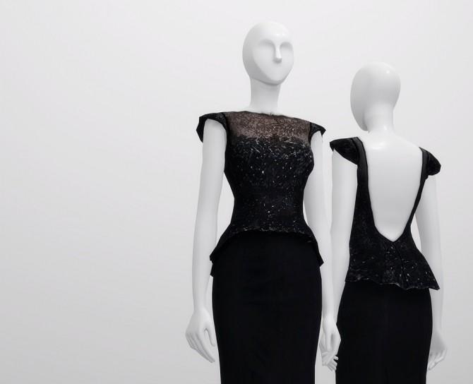 Sims 4 Black dress at Rusty Nail