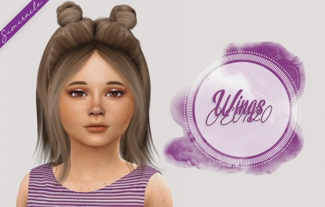 Hairstyles kids sims 4 download