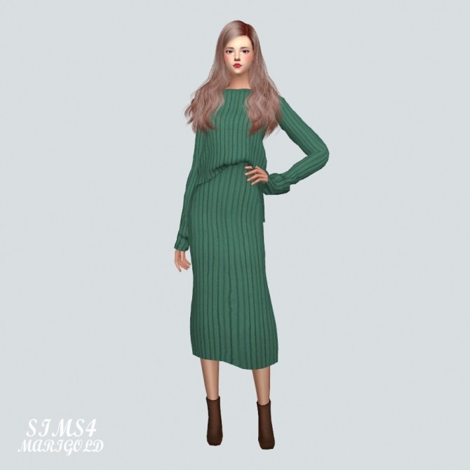 Two Piece Dress at Marigold image 1329 670x670 Sims 4 Updates