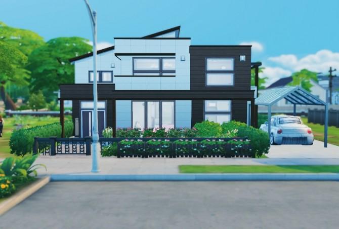 Japanese modern house at Imadako image 1333 670x452 Sims 4 Updates