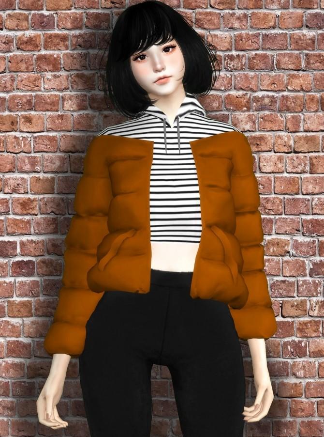 Sweater w/Puffy Jacket at TSLOK image 13413 670x902 Sims 4 Updates