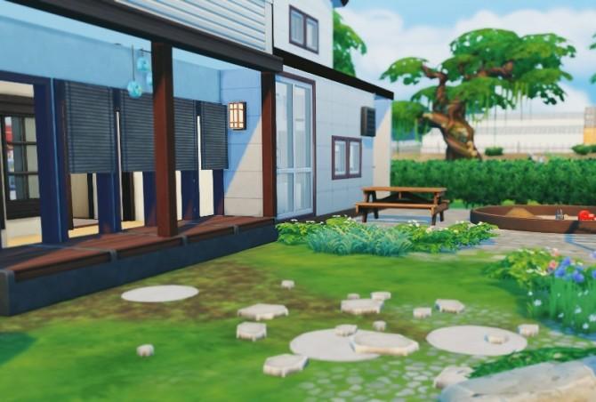 Sims 4 Japanese modern house at Imadako