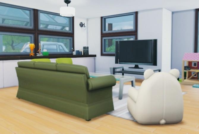 Japanese modern house at Imadako image 1363 670x452 Sims 4 Updates