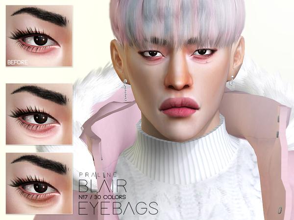 Sims 4 Blair Eyebags N17 by Pralinesims at TSR