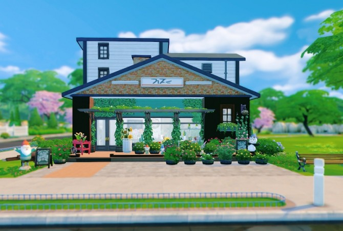 Flower Shop & house at Imadako image 1373 670x452 Sims 4 Updates
