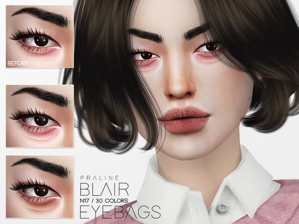 Blair Eyebags N17 by Pralinesims at TSR image 138 Sims 4 Updates