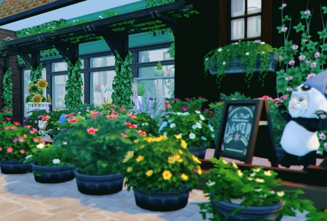 Flower Shop & house at Imadako image 1383 670x452 Sims 4 Updates