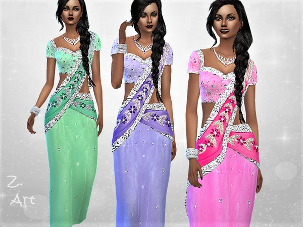 Bollylook 03 dress by Zuckerschnute20 at TSR image 1384 Sims 4 Updates
