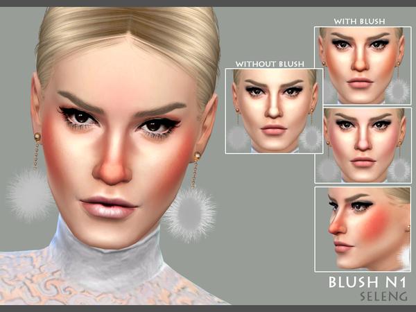 Sims 4 Blush N1 by Seleng at TSR