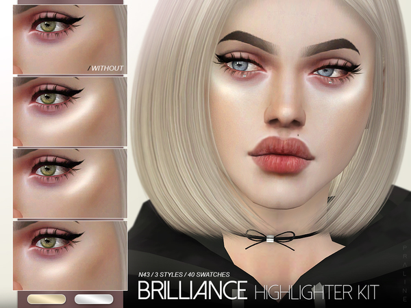 Brilliance Highlighter Kit N43 by Pralinesims at TSR image 1404 Sims 4 Updates