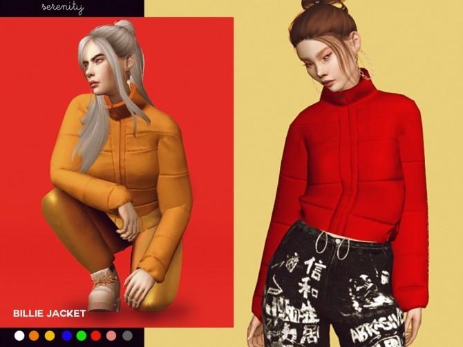 Billie Jacket at SERENITY image 14111 670x503 Sims 4 Updates