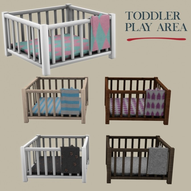 Toddler Play Area At Leo Sims 187 Sims 4 Updates