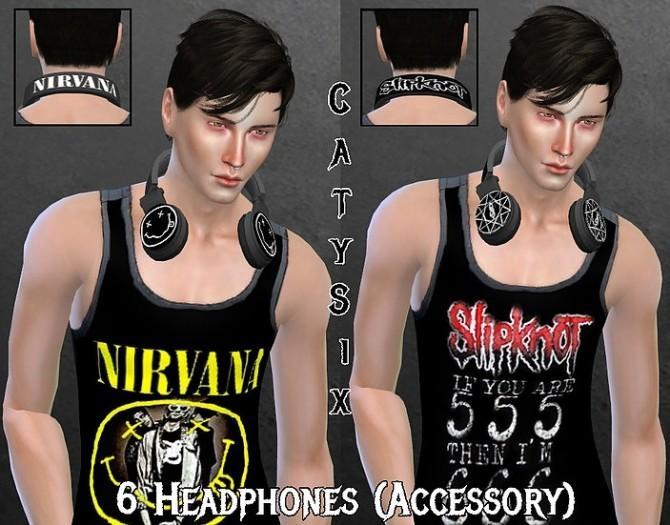 Headphones V2 at CatySix image 1422 670x525 Sims 4 Updates