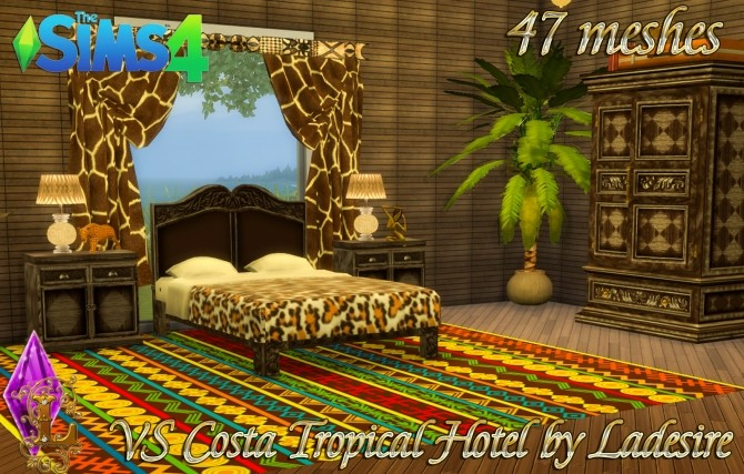 VitaSims Costa Tropical Hotel 47 meshes at Ladesire image 14312 670x427 Sims 4 Updates