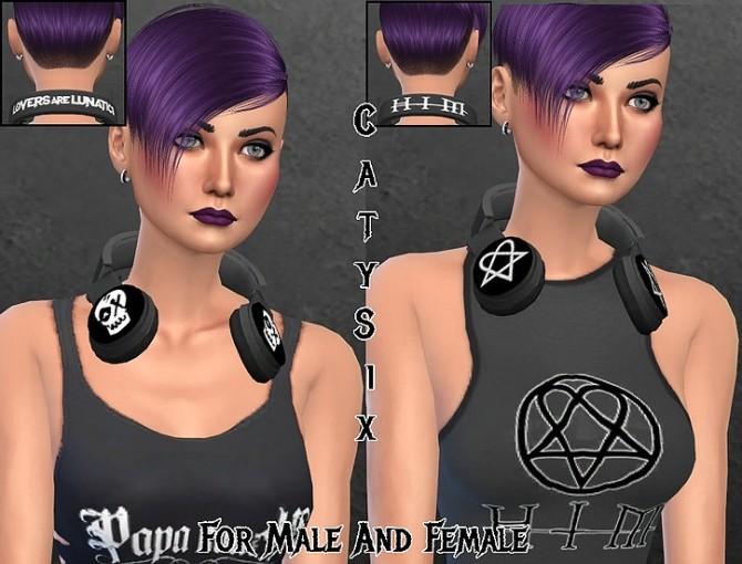 Headphones V2 at CatySix image 1432 670x510 Sims 4 Updates