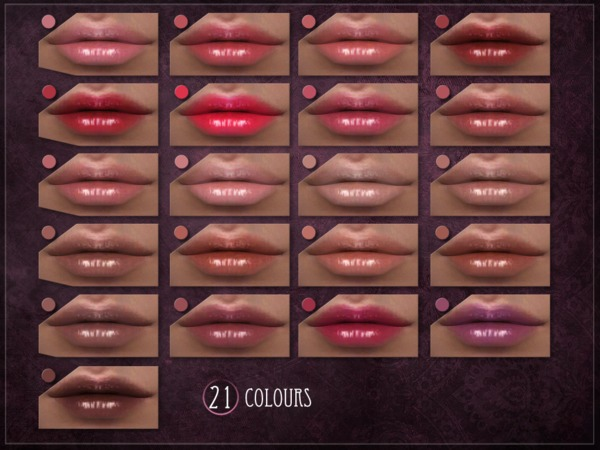 Sims 4 Condition Lipstick by RemusSirion at TSR