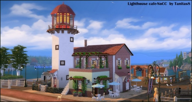 Lighthouse cafe at Tanitas8 Sims image 1448 670x356 Sims 4 Updates