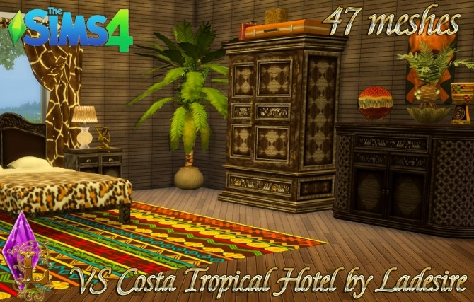 VitaSims Costa Tropical Hotel 47 meshes at Ladesire image 14510 670x427 Sims 4 Updates