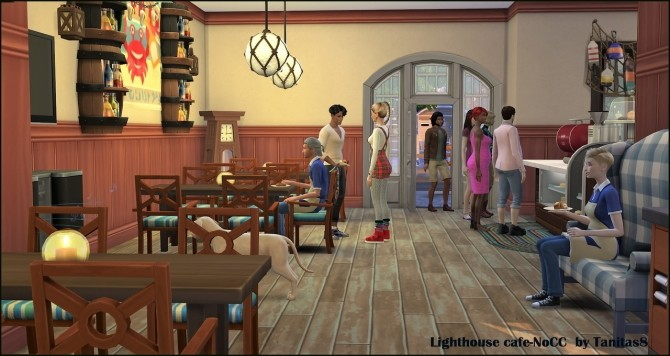 Lighthouse cafe at Tanitas8 Sims image 1458 670x356 Sims 4 Updates