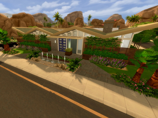 Stardust house by QubeDesign at TSR image 1460 Sims 4 Updates