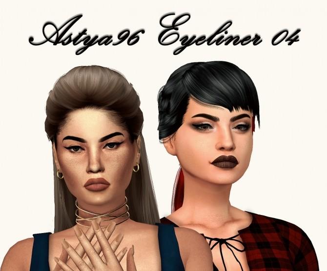 Sims 4 Eyeliner 04 at Astya96