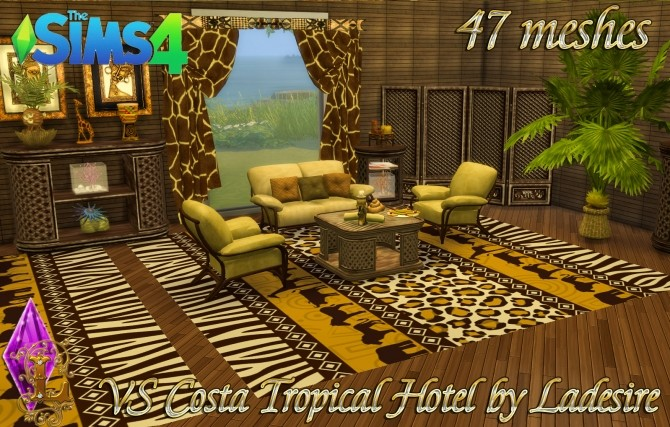VitaSims Costa Tropical Hotel 47 meshes at Ladesire image 1479 670x427 Sims 4 Updates