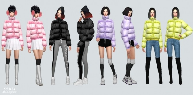 Padding jacket at Marigold image 1481 670x331 Sims 4 Updates