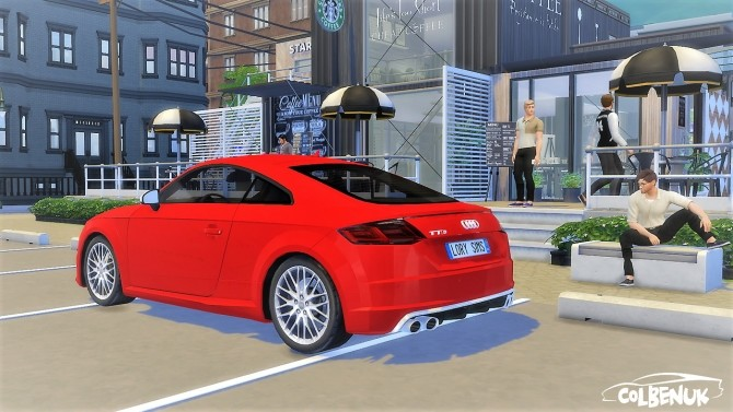 Audi TTS at LorySims image 1504 670x377 Sims 4 Updates