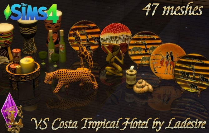 VitaSims Costa Tropical Hotel 47 meshes at Ladesire image 15115 670x427 Sims 4 Updates