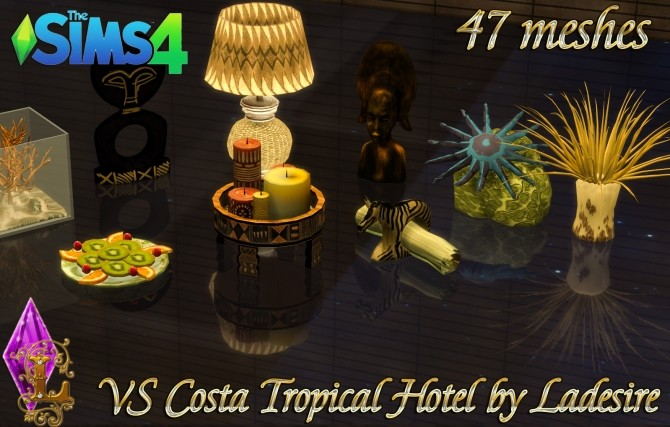 VitaSims Costa Tropical Hotel 47 meshes at Ladesire image 15213 670x427 Sims 4 Updates