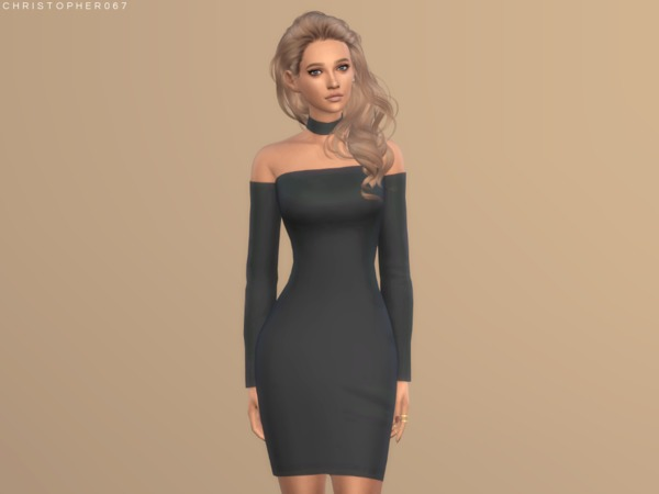 Mirage Dress by Christopher067 at TSR image 1530 Sims 4 Updates