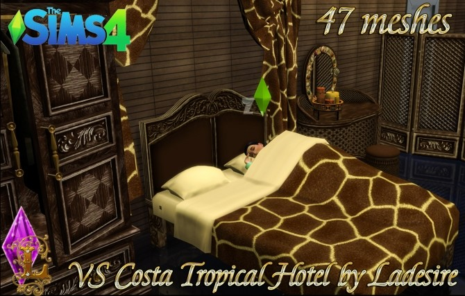 VitaSims Costa Tropical Hotel 47 meshes at Ladesire image 15311 670x427 Sims 4 Updates