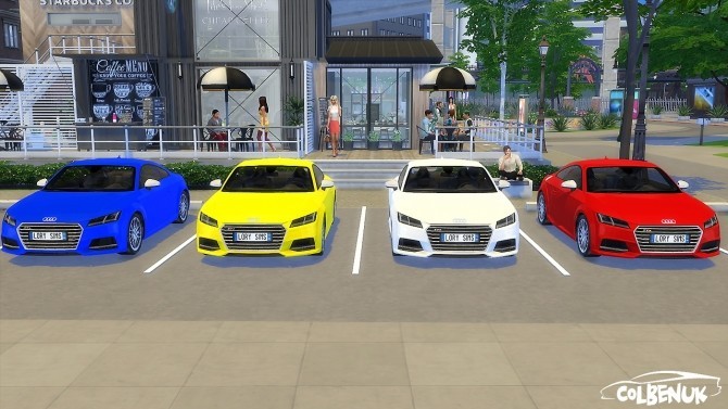 Audi TTS at LorySims image 1534 670x377 Sims 4 Updates