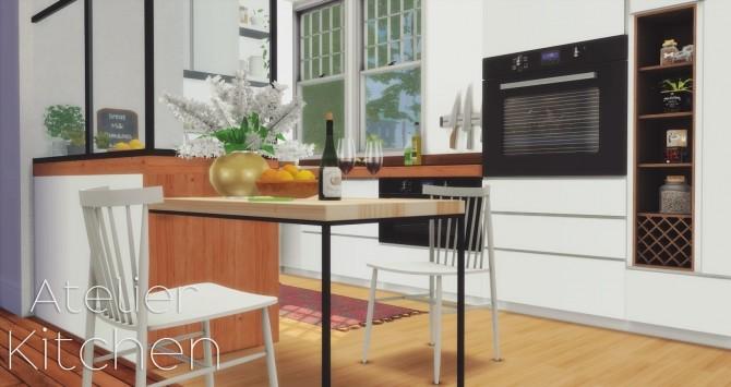 Atelier Kitchen at Pyszny Design image 15510 670x355 Sims 4 Updates