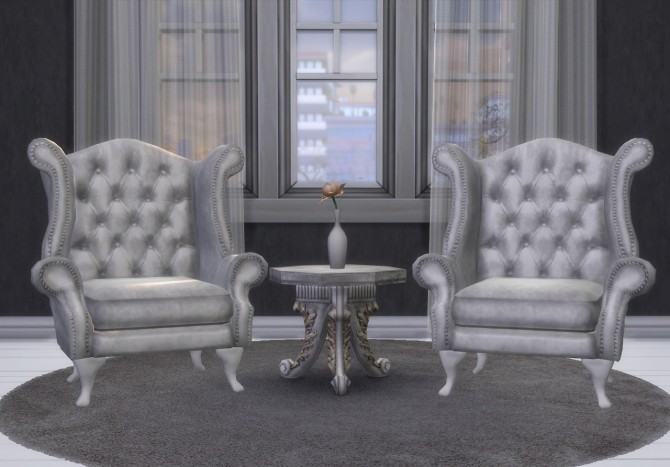 Chesterfield Armchair at Alial Sim image 1566 670x467 Sims 4 Updates