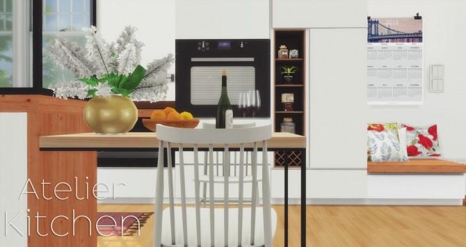 Atelier Kitchen at Pyszny Design image 1569 670x355 Sims 4 Updates
