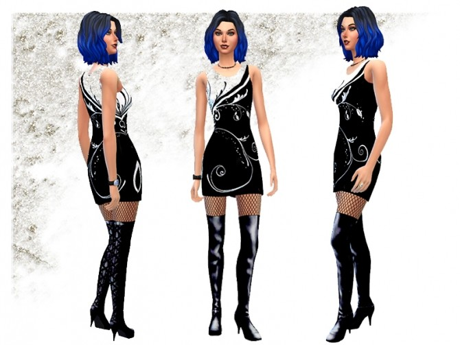 thigh high boots by simalicious at mod the sims 187 sims 4