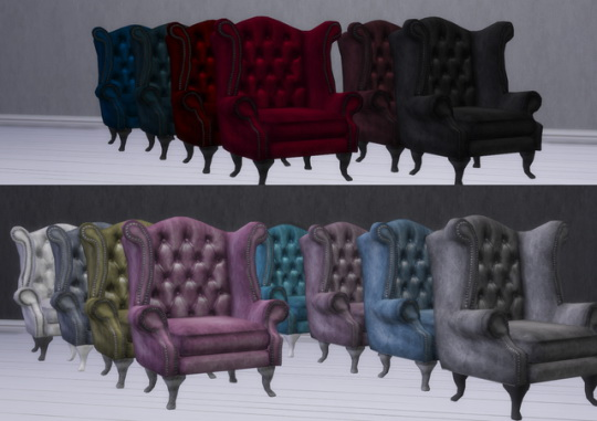 Chesterfield Armchair at Alial Sim image 1575 Sims 4 Updates