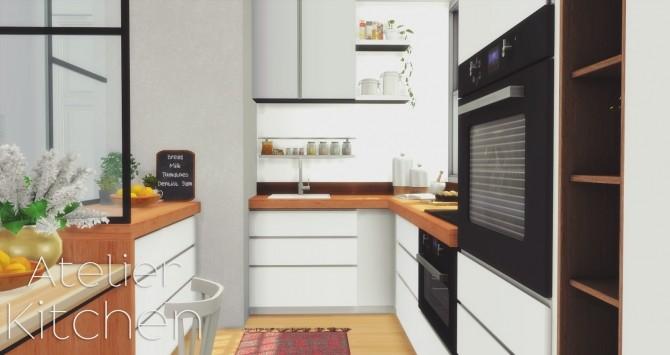 Atelier Kitchen at Pyszny Design image 1578 670x355 Sims 4 Updates