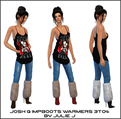 Josh Q Impossible Boots with Warmers 3to4 at Julietoon – Julie J image 1582 Sims 4 Updates