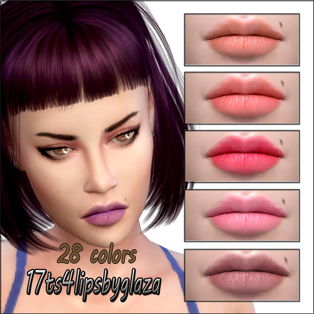 Sims 4 Lips #17 at All by Glaza