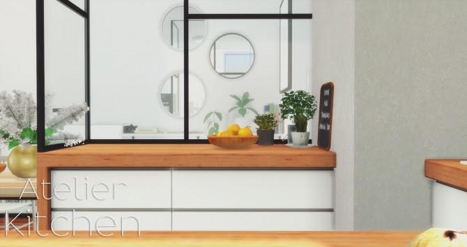 Atelier Kitchen at Pyszny Design image 1589 670x355 Sims 4 Updates