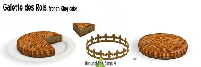 Epiphany with french King cake at Around the Sims 4 image 1592 670x226 Sims 4 Updates