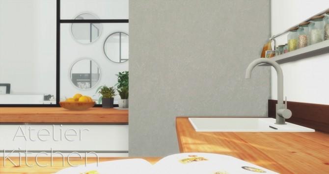 Atelier Kitchen at Pyszny Design image 1598 670x355 Sims 4 Updates