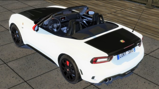 Abarth 124 Spider at LorySims image 1604 670x377 Sims 4 Updates