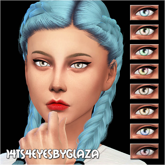 Sims 4 Eyes #14 at All by Glaza