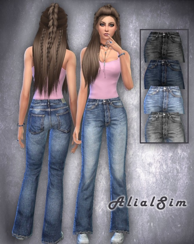 Jeans at Alial Sim image 16111 670x842 Sims 4 Updates