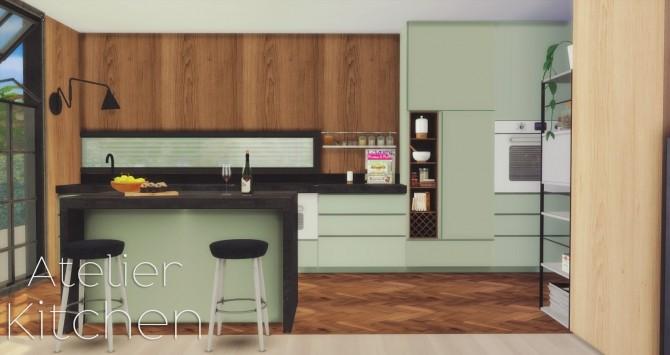 Atelier Kitchen at Pyszny Design image 16114 670x355 Sims 4 Updates