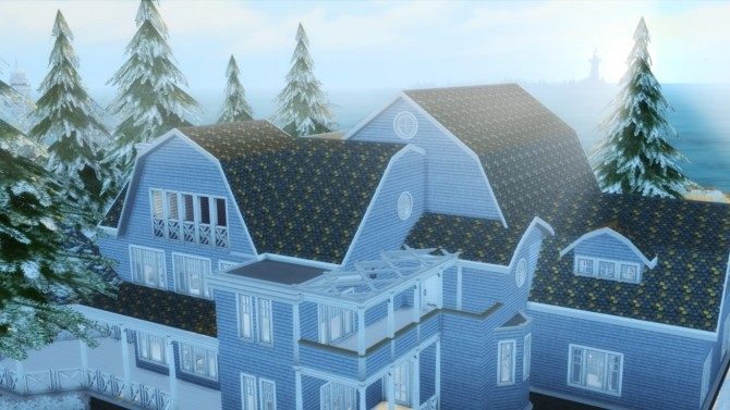 Sims 4 Roof Tiles 01 at Helen Sims